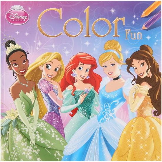 Kleurplaten Prinsessen A4 Formaat.Disney Prinses Kleurplaten Boek 5 50 Alleen Bij Masker Winkel Nl